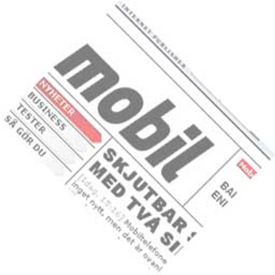 Nytt mobilblad i Norge