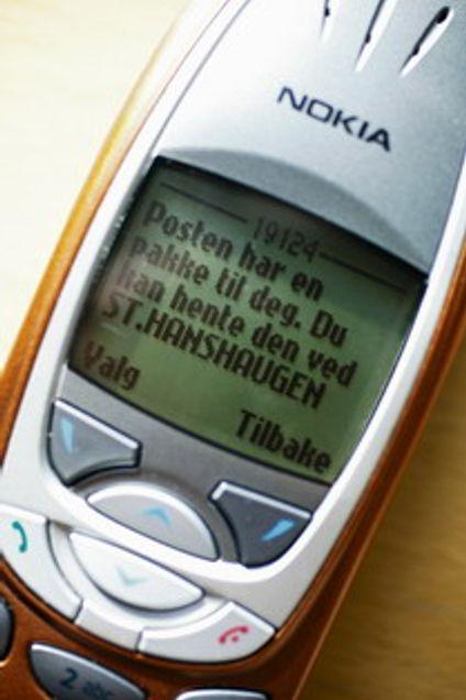 Epost overtar for telefon