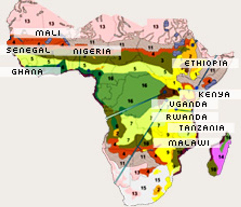 Ericsson  gir nett til Afrika