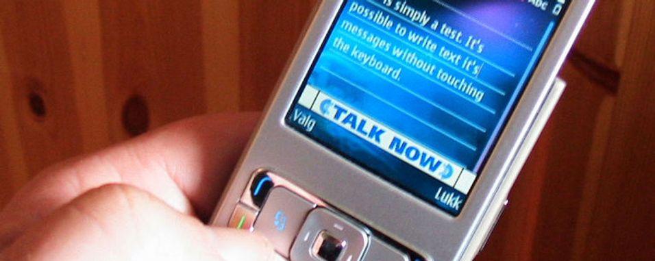 SMS med ett tastetrykk