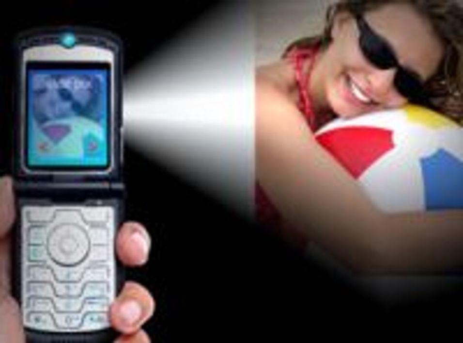 Vil ha projektor på mobilen