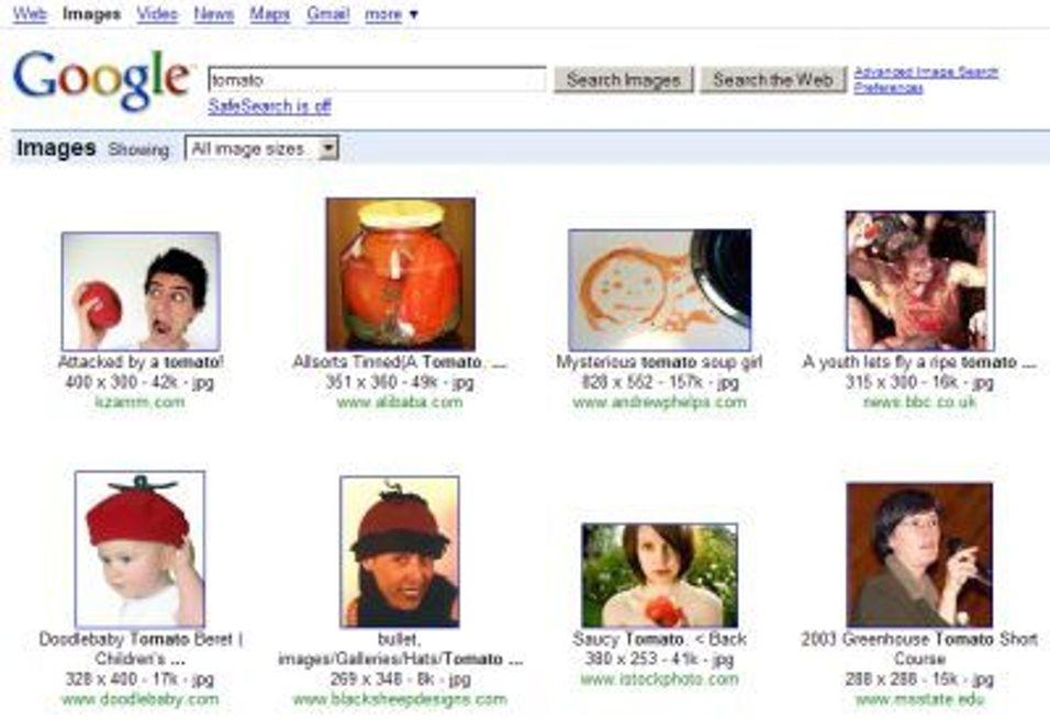 Få bedre billedsøk på Google