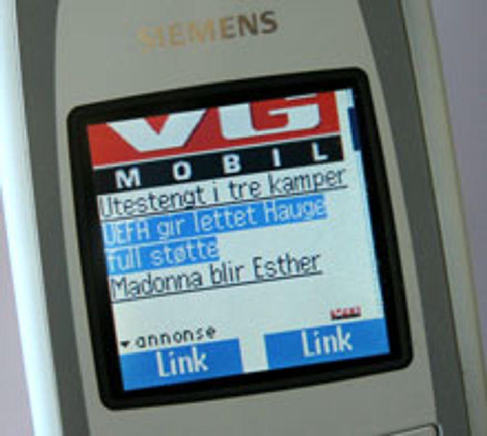 Mest mobile data fra PCen