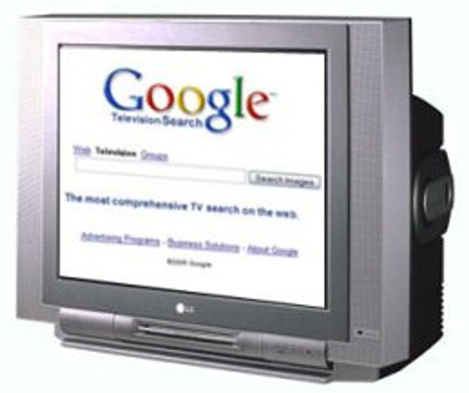 Google vil levere TV-reklame