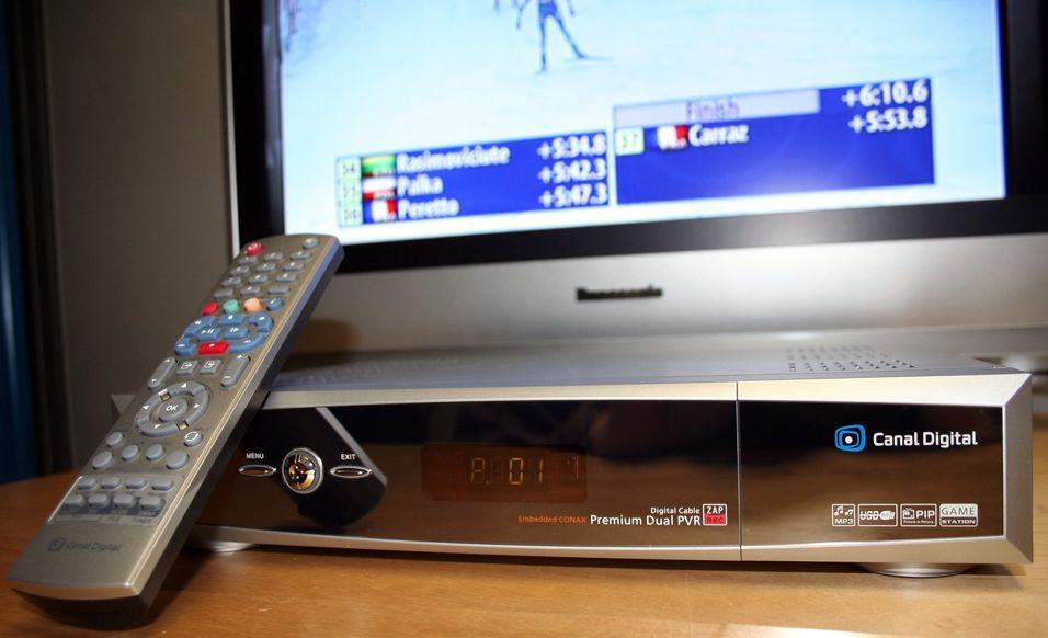 Harddiskopptakere som redder TV-kvelden