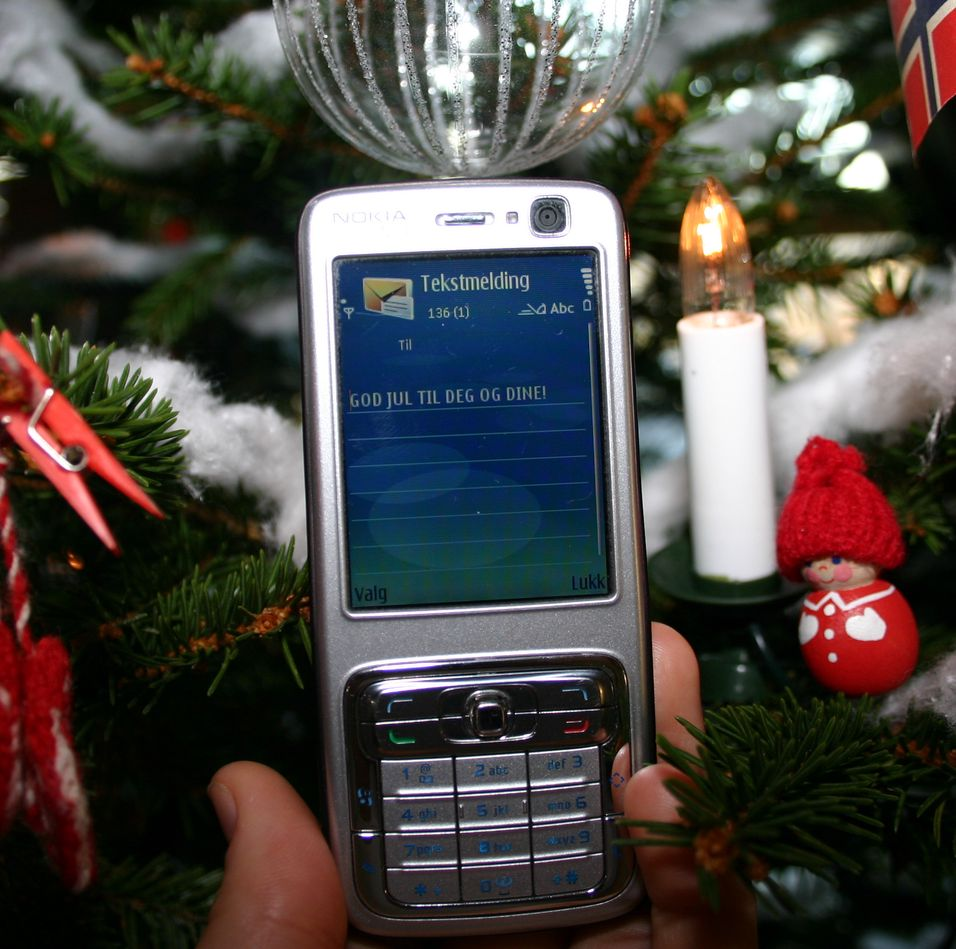SMS-rekord julaften