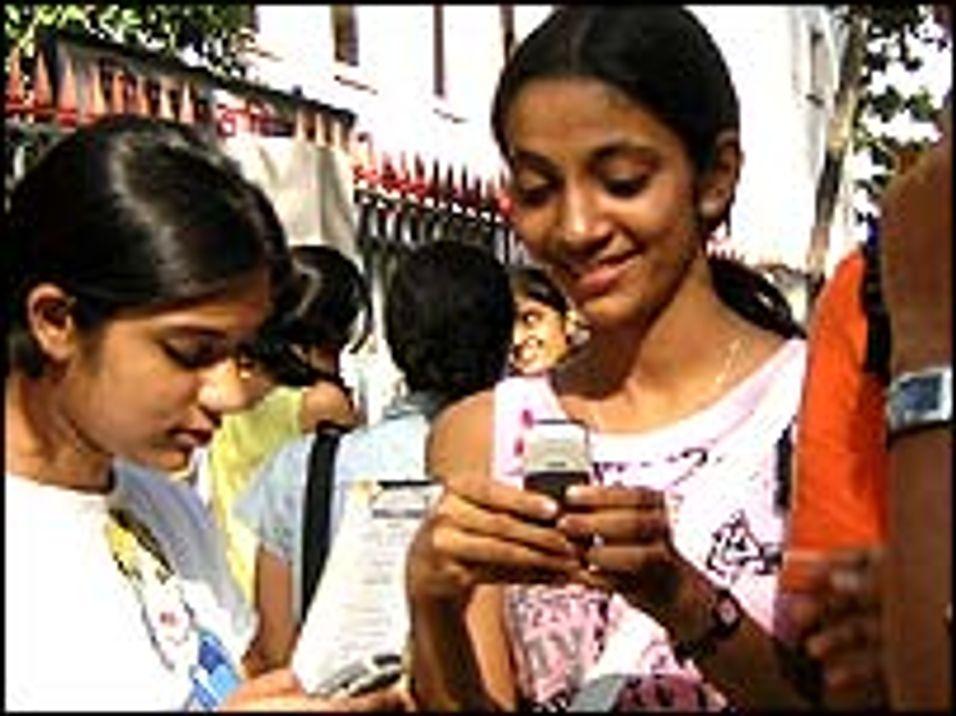 Budkamp om indisk mobilselskap