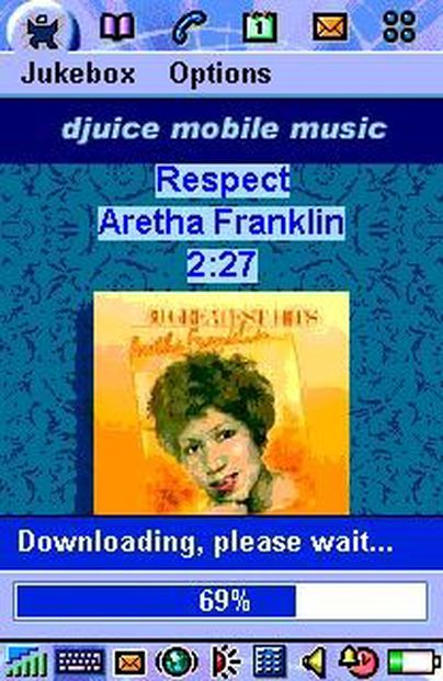 Fornøyd med mobilmusikk