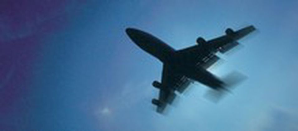 Trygt med mobil i fly