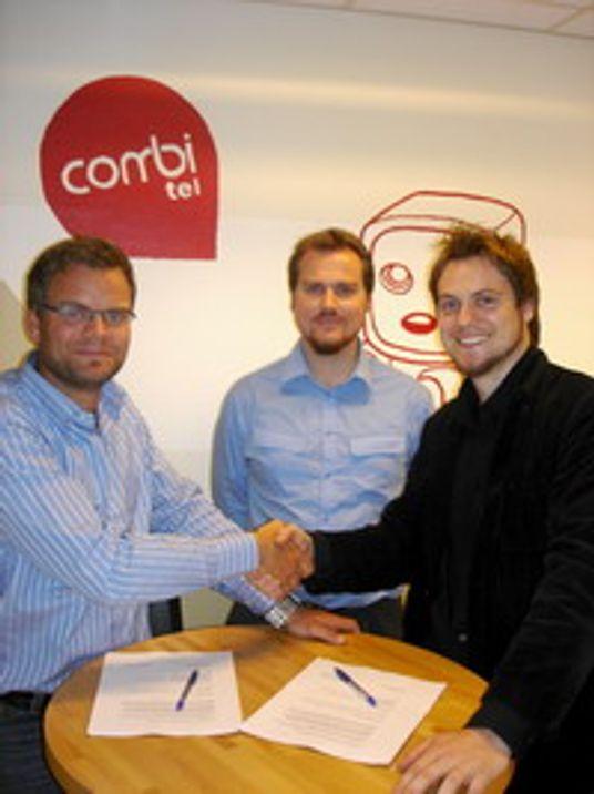 Combitel sponser Futsal