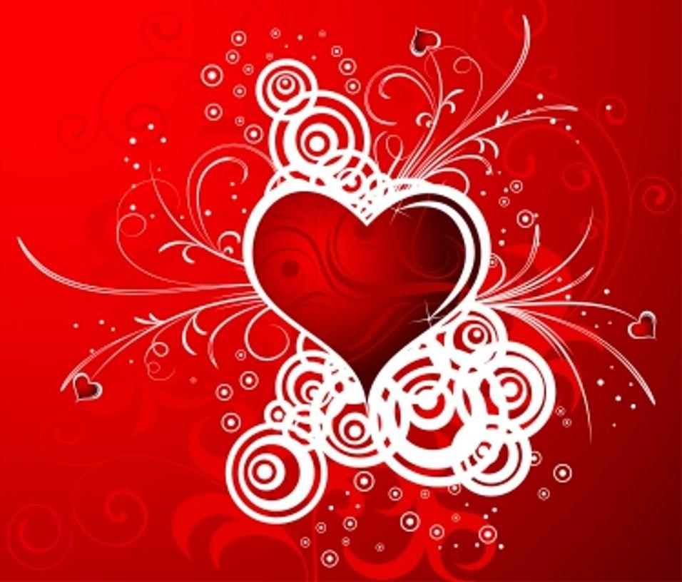 Åtte av ti håper på kjærlighetsoppmerksomhet
