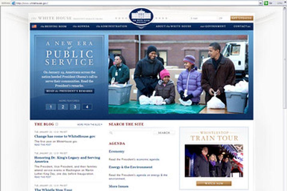 Obama-rekord sprengte bredbåndsnettene