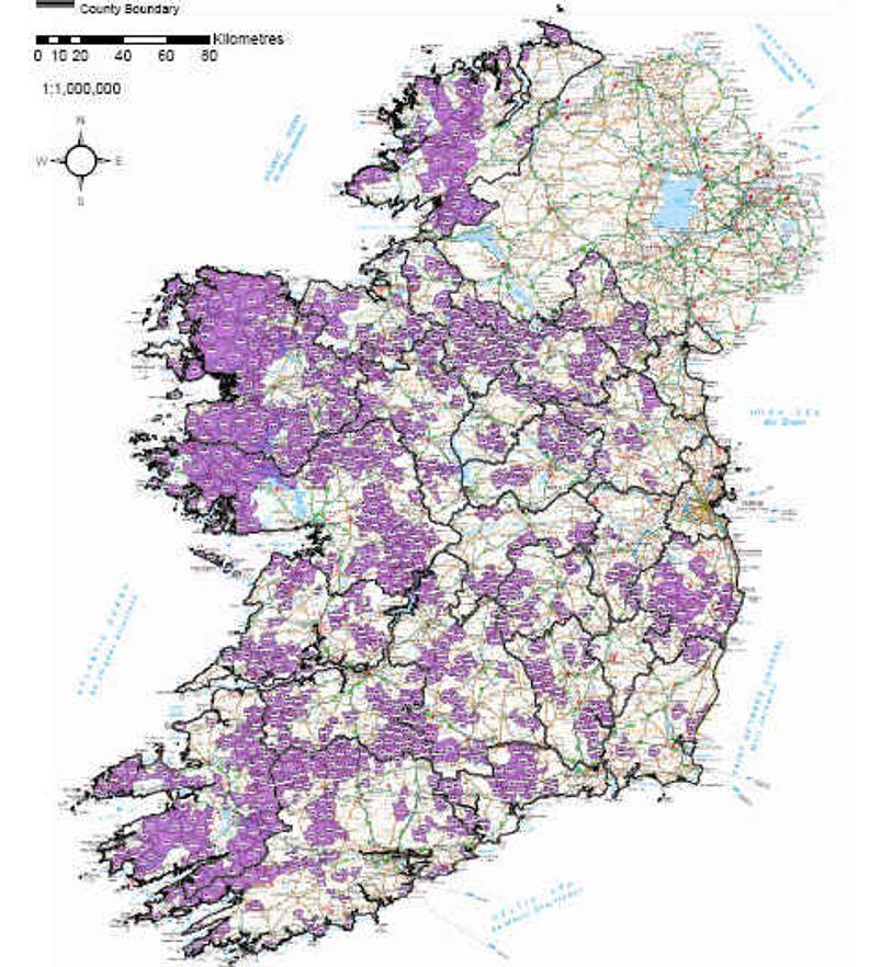Irland støtter mobilutbygging