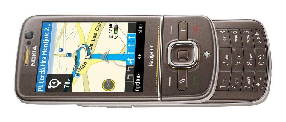 Nye GPS-telefoner fra Nokia