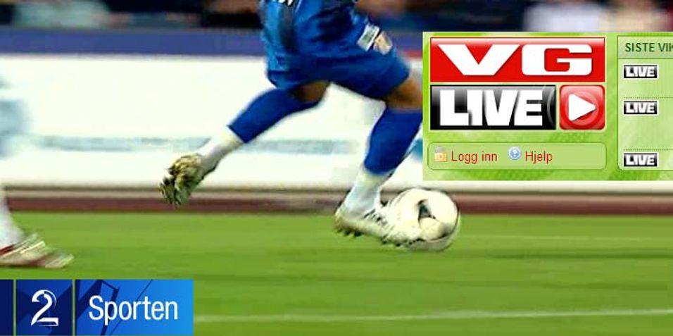 TV 2 Sumo mot VG Live