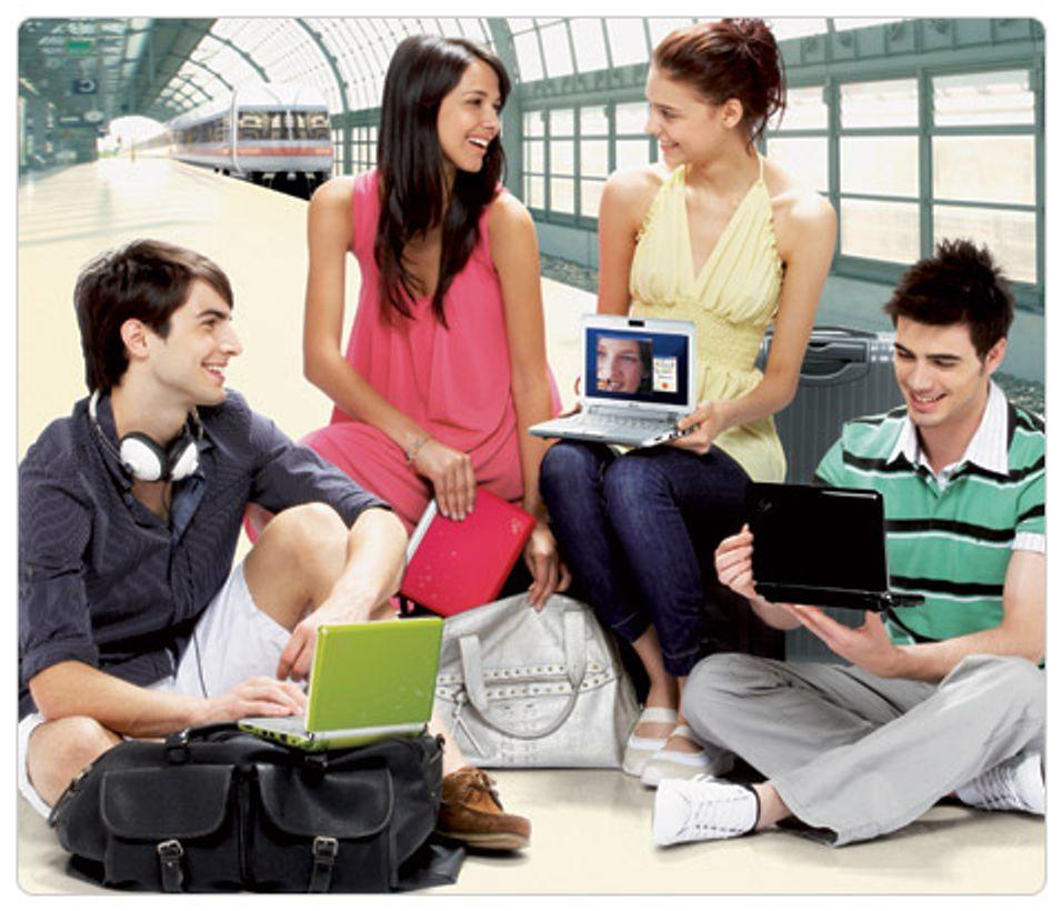 Dreper mini-PCen over nettet