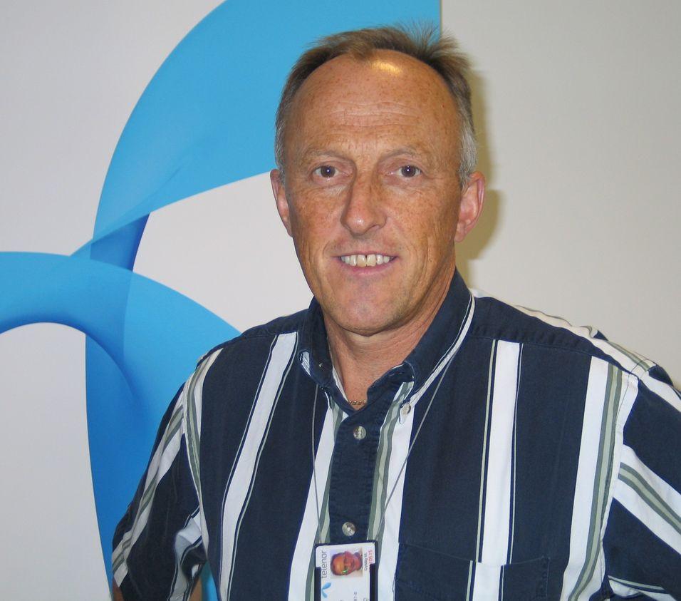 Knut Sollid er informasjonssjef i Telenor Norge.