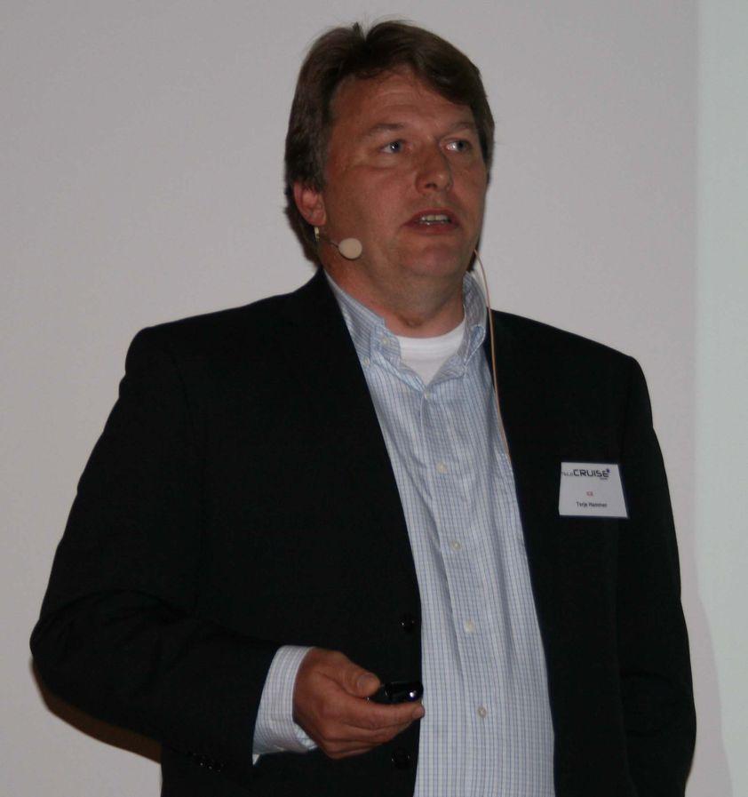 - Istiden kommer igjen, sa Ice\' tekniske direktør, Terje Hammer, under TeleCruise.