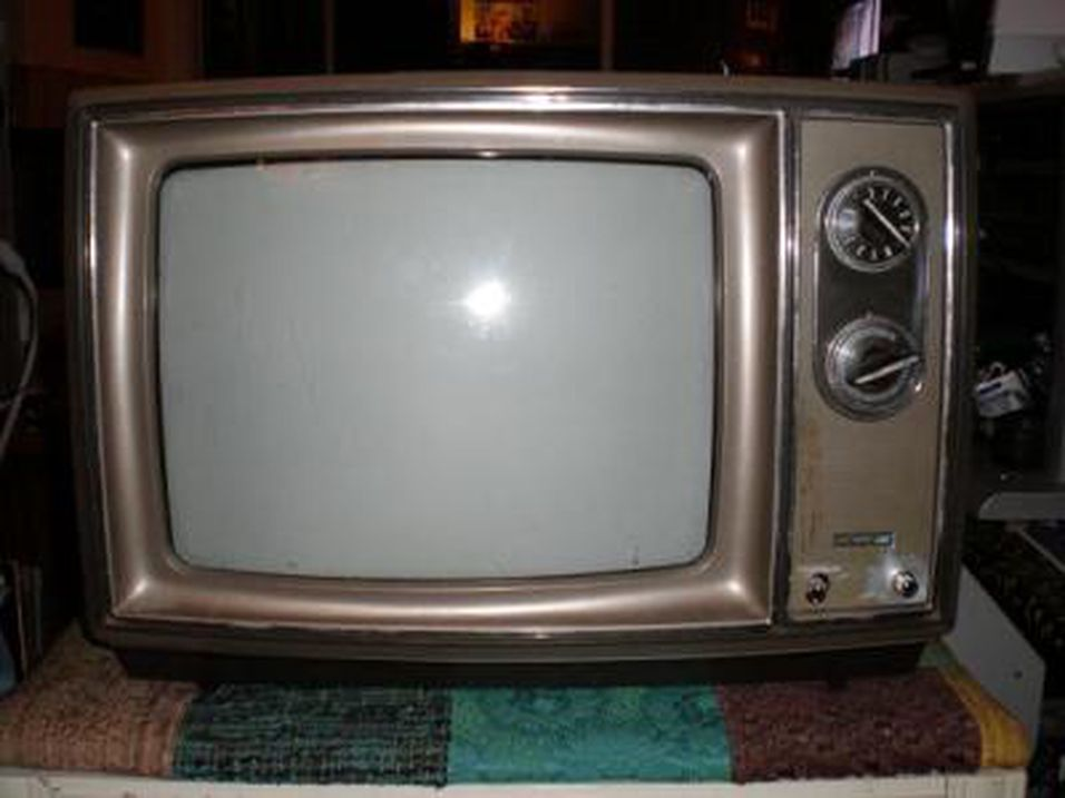 Millioner svarte TV-skjermer