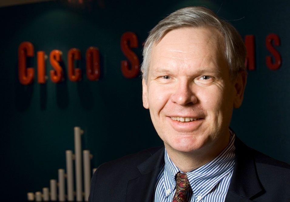 Norges-sjef Jørgen Myrland i Cisco kan levere en vekst på 22 prosent i 3. kvartal i regnskapsåret 2011.