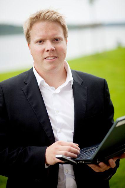 Daglig leder Eivind Helgaker i Ice ser frem til å tilby sine kunder økt kapasitet og økte hastigheter.