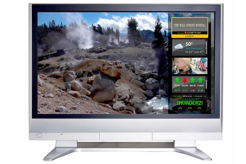 Flertallet av tv-er solgt i 2011 kan kobles til internett.