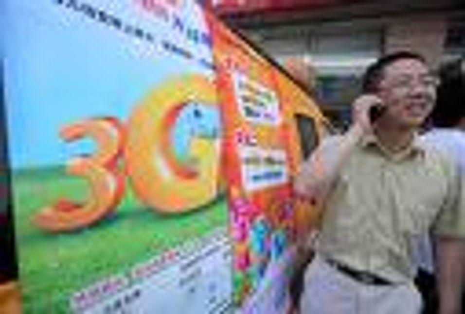 Kina dropper egen 3G-standard