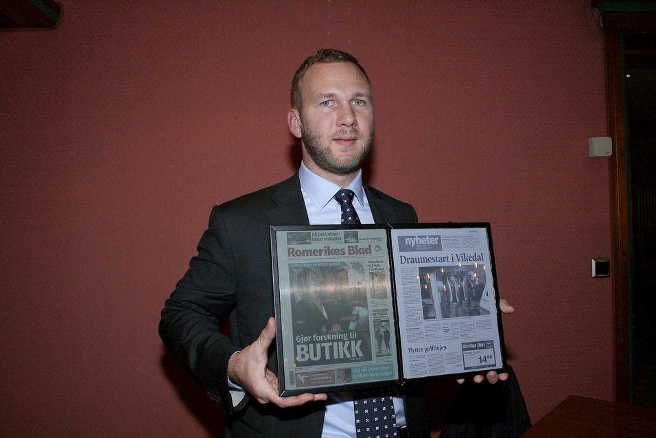 Norsk tabloid lesebrett