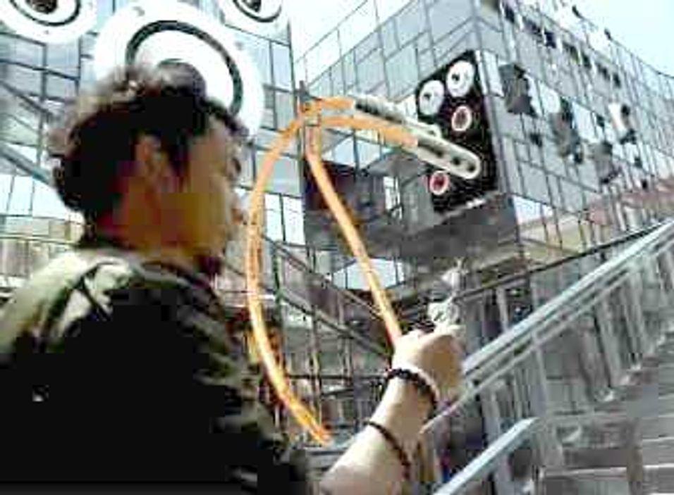 Fra en av China Unicoms reklamefilmer om 3G.