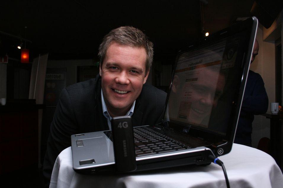 Fungerende produktdirektør Vegard Kjenner i Netcom innrømmer at det er økonomisk gunstig å la to ulike leverandører levere basestasjoner til LTE-nettet.
