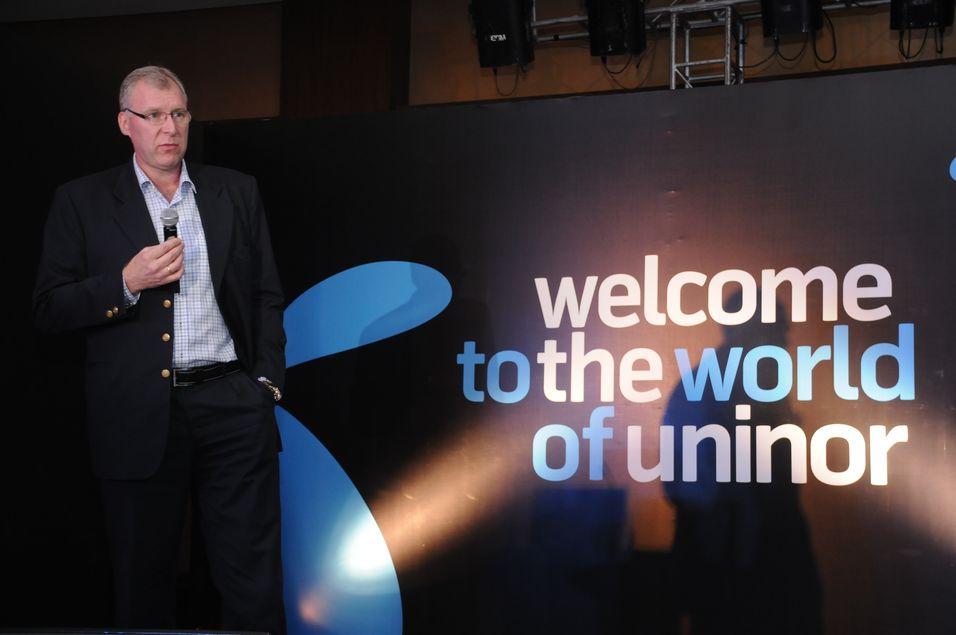 Stein Erik Vellan gir seg som sjef i indiske Uninor.