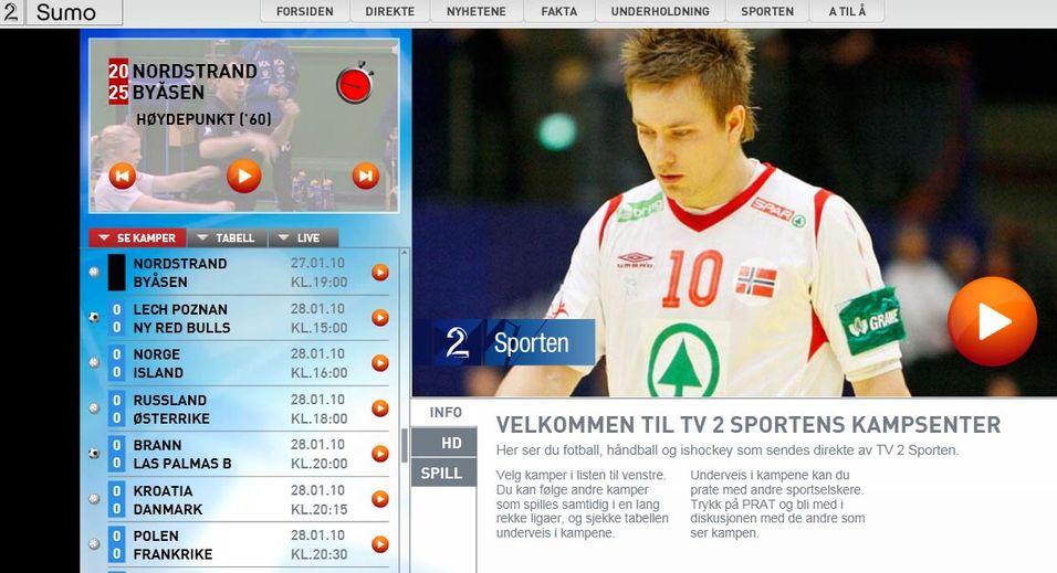 TV2 skiller ut teknologidelen av TV2 Sumo i eget selskap.