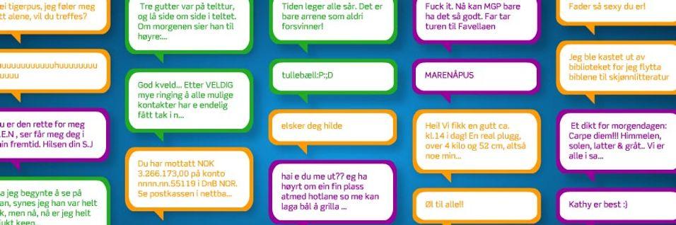 Åpner verdens første SMS-museum