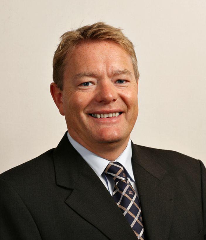 Markedsdirektør Morten Ågnes i Nextgentel redegjør for selskapets VDSL-satsing og ønsker samtidig Telenor velkommen etter.M