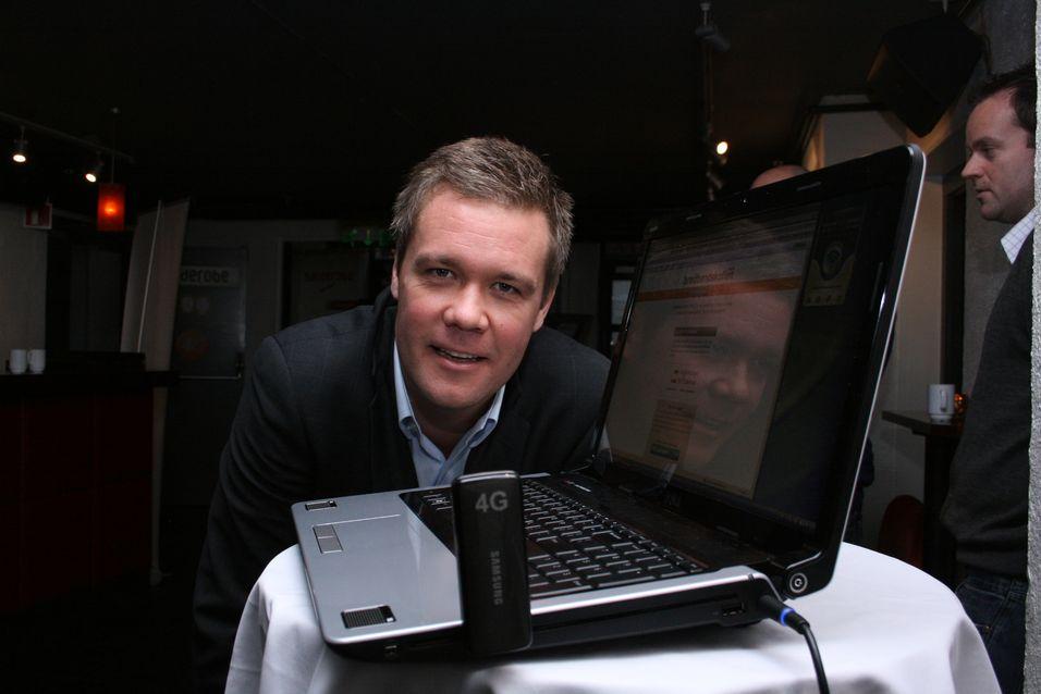 Netcoms Vegard Kjenner.