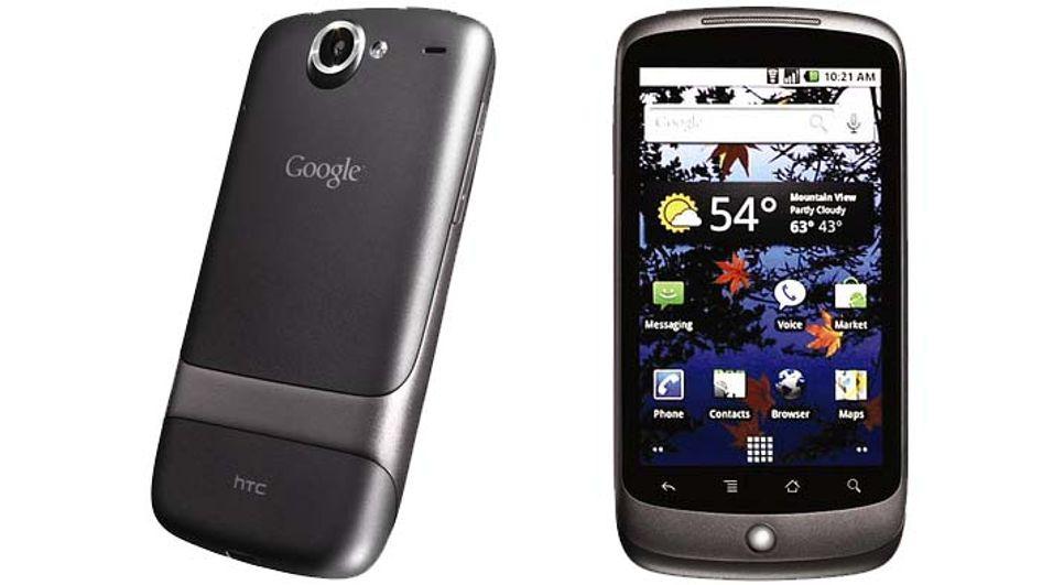 Google Nexus One, produsert av HTC