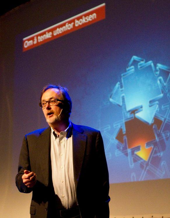 Direktør Tom Guldberg i Network Norway mener nykommere møter en beintøff virkelighet på det norske mobilmarkedet.