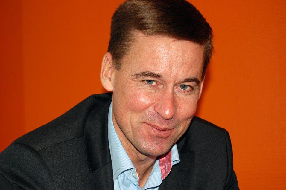 Teliasonera Norge-sjef August Baumann har bedret kundelojaliteten, og leverer klart bedre resultater.