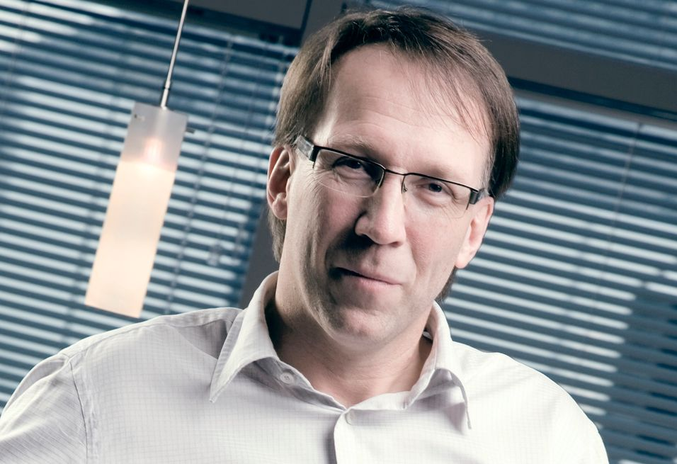 Tafjord Marked-sjef Gunnar Hareide satser friskt på fiber de neste fem årene.