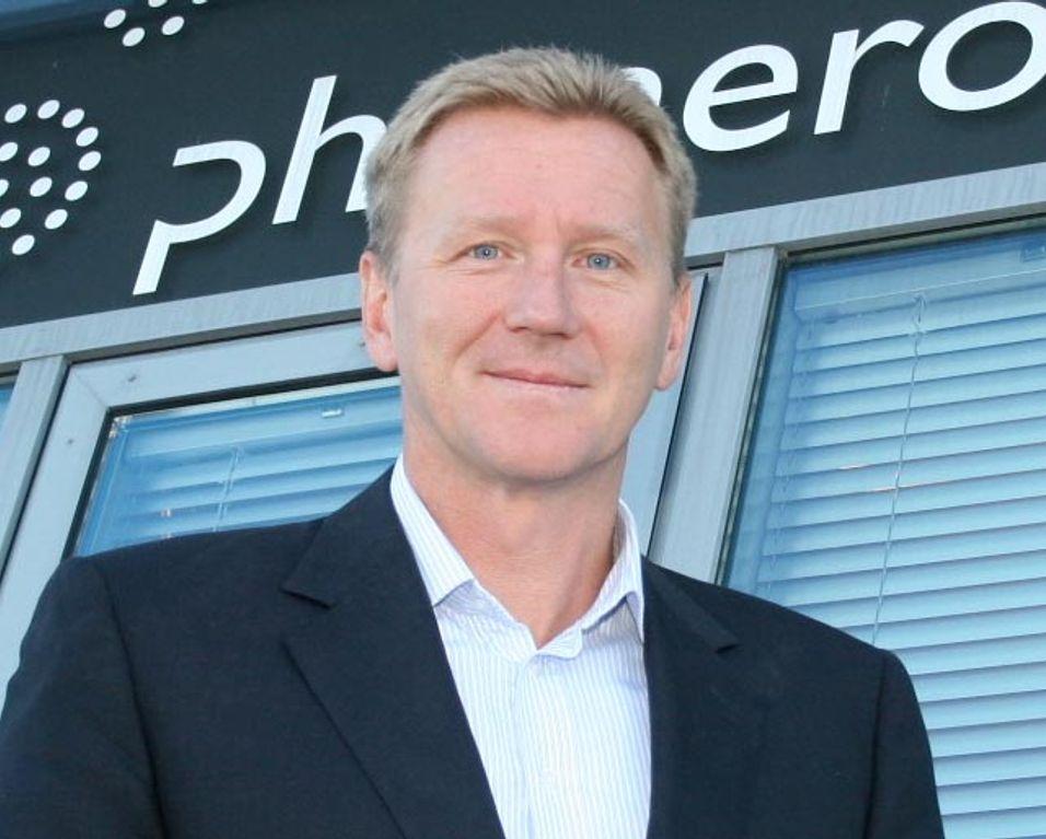 Thore Berthelsen er svært godt fornøyd med at selskapet han er satt til å lede topper kundetilfredshetsundersøkelsen fra Epsi.