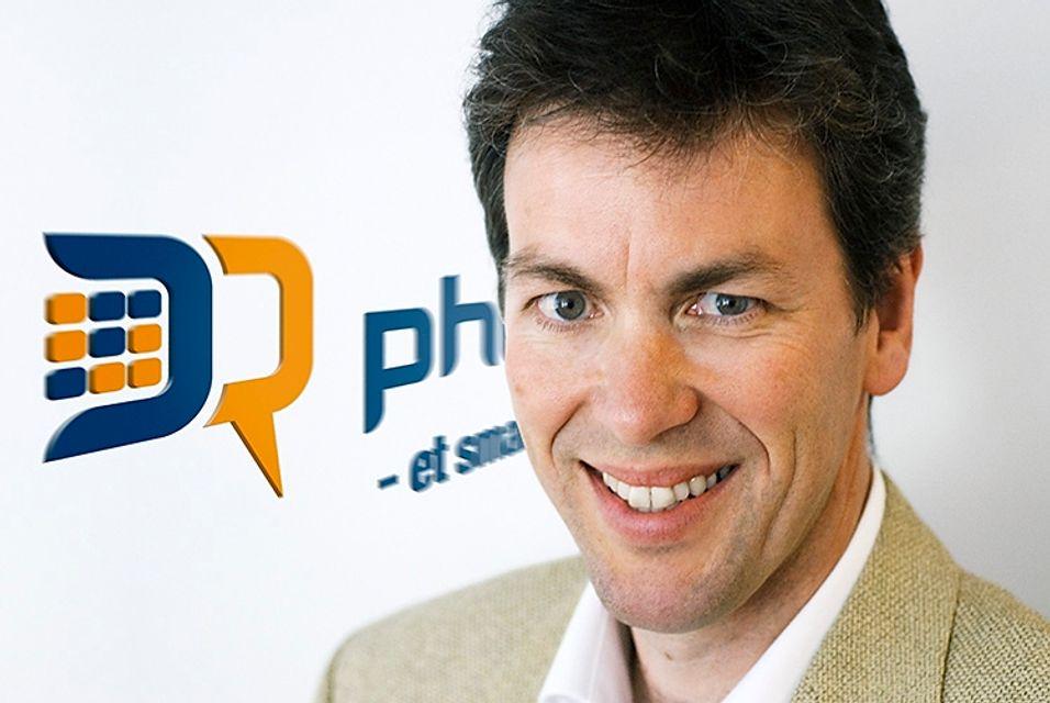 Administrerende direktør Bjørn-Harald Skjevestad i Phonect sier selskapet han leder leverer tusenvis av abonnementer per måned. - Vi er et lønnsomt vekstselskap, sier han.