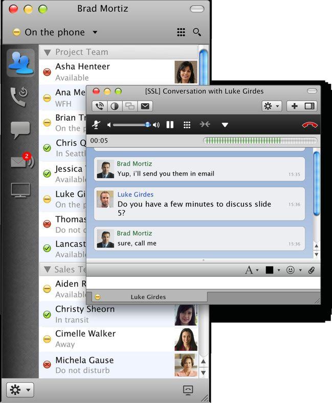 Ciscos nye løsning for samordnet kommunikasjon, Jabber.