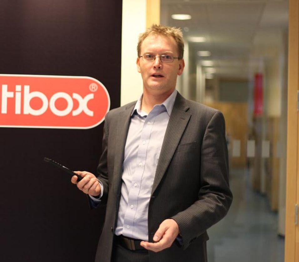 Altibox-sjef Leif Aarthun Ims vil ikke ha noe av at Get smykker seg med tittelen Norges nest største bredbåndsleverandør.