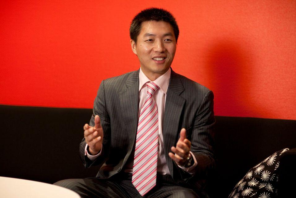 Sjef for Huaweis satsing i Norden og Baltikum, James Chen, tror sterkt på fortsatt vekst i 2011.