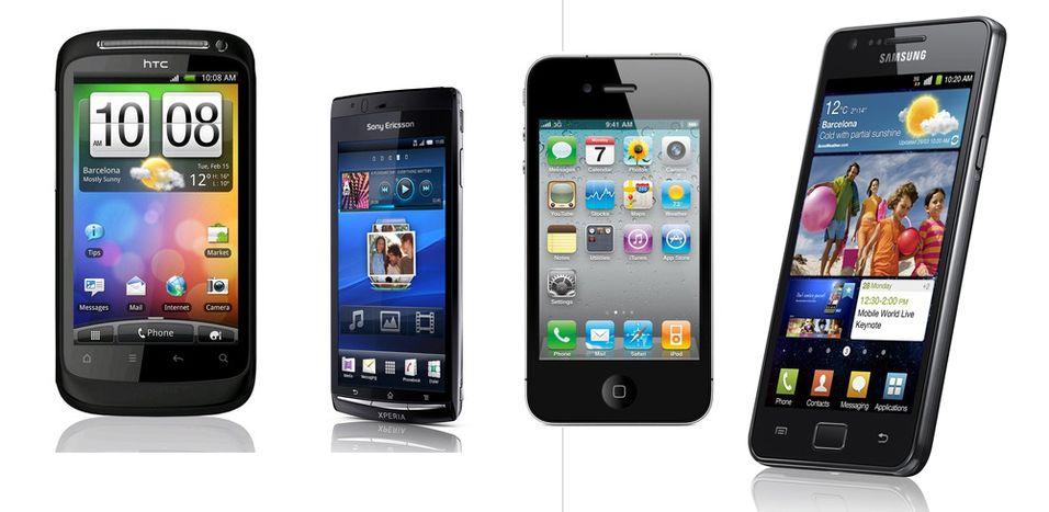 Disse mobiltelefonene selges mest