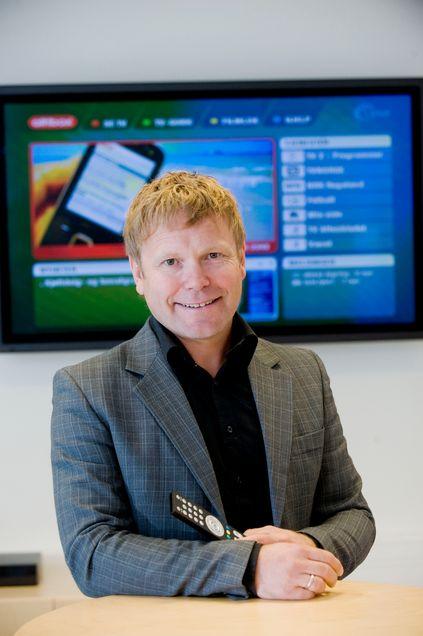 Tore Kristoffersen i Altibox er godt fornøyd med å ha valgt Huawei som eneleverandør.