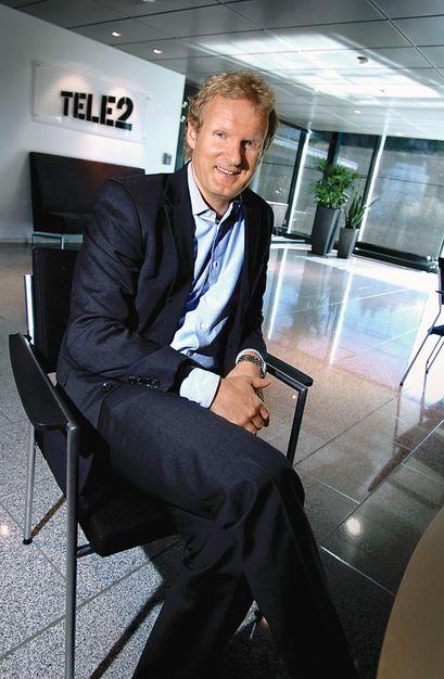Administrerende direktør i Tele2, Haakon Dyrnes.