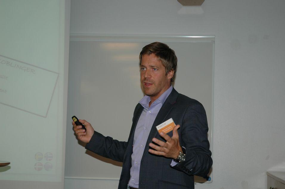 Paal Andre Jansen i Samsung spår kraftig etterspørsel etter høyere bredbåndshastigheter de nærmeste årene.