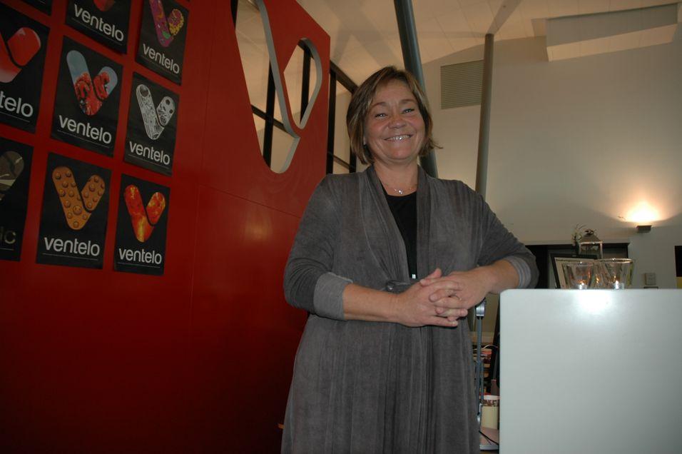 Grethe Myhrvold, leder for IP Datacom i Ventelo, har snart et eget datasenter å lokke til seg kunder med.