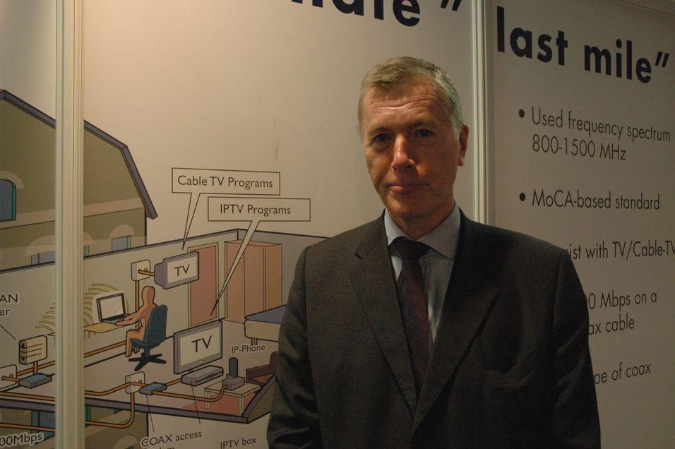 Morten Moland håper Incoax teknologi skal bidra til større konkurranse i koaks-nettene.